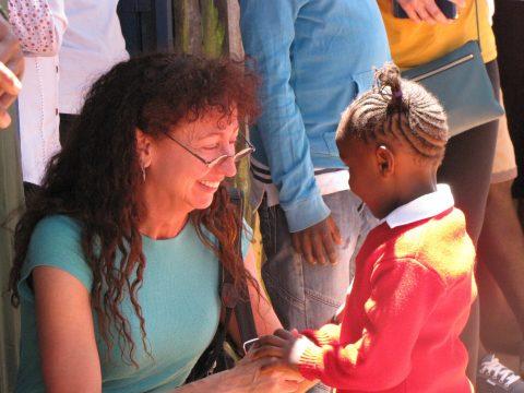 March 2017 Trip Lori Harris at Nelson Mandela
