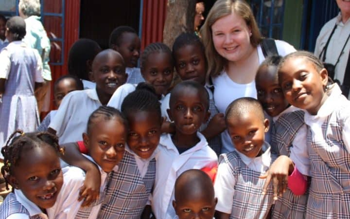 March Trip 2017 Caroline at Nelson Mandela
