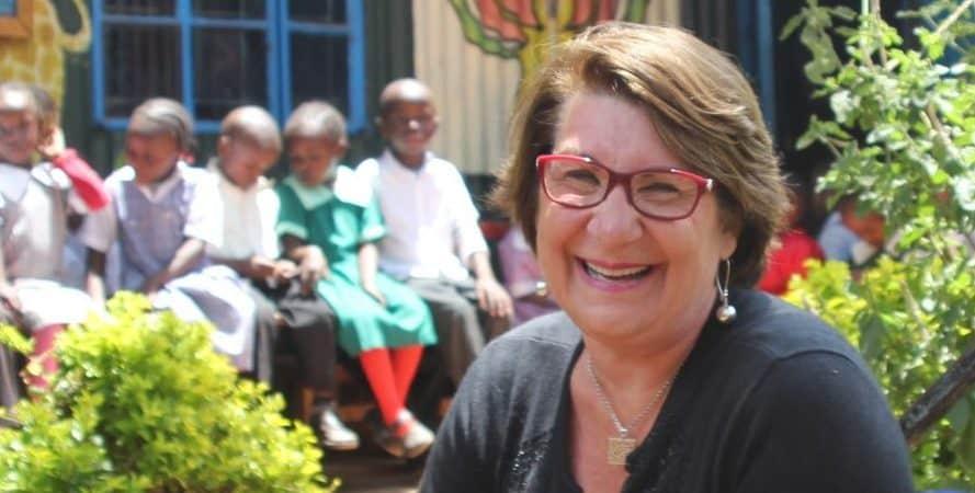 Paula at Nelson Mandela