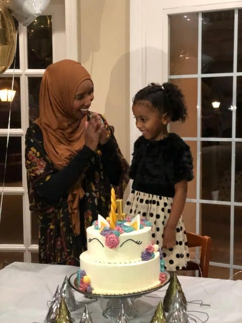 Marwa and her mother