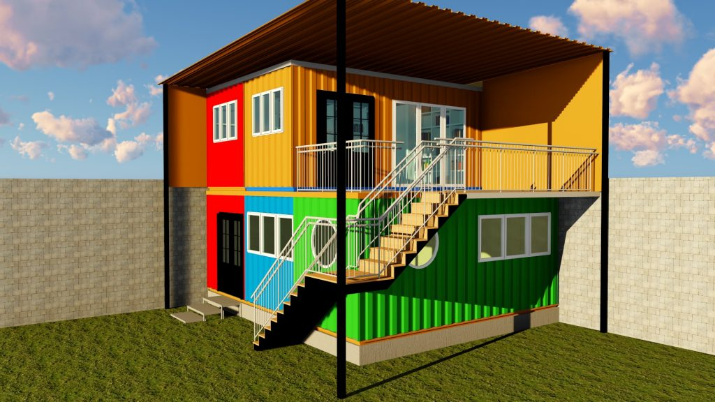 Rendering of proposed Elimu Hub Student-Alumni Center